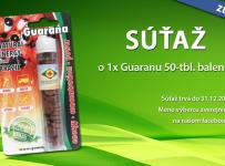 Vyhrajte Guaranu z Brazílie