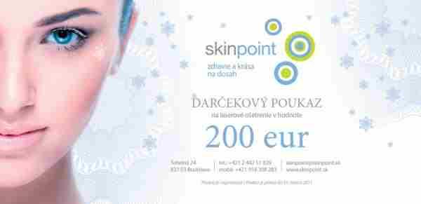 Vyhrajte poukaz na laserové ošetrenie v hodnote 200 eur