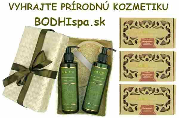 Vyhrajte prírodnú kozmetiku Bodhi