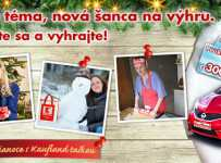 Zima a Vianoce s Kaufland taškou