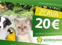 Vyhraj 20€ poukaz na nákup chovateľských potrieb
