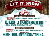 2 vstupy na LET IT SNOW 2015 - Jasná