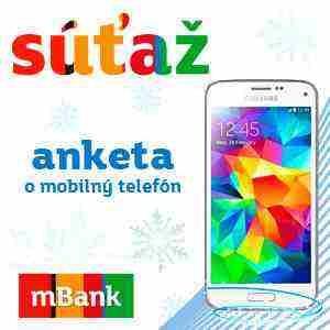 Do nového roka s novým mobilom SAMSUNG GALAXY S5 mini od mBank