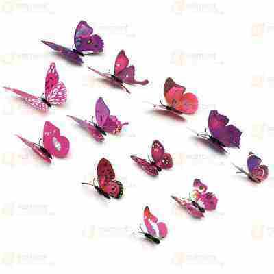 Súťaž o Magnety 3D motýľ