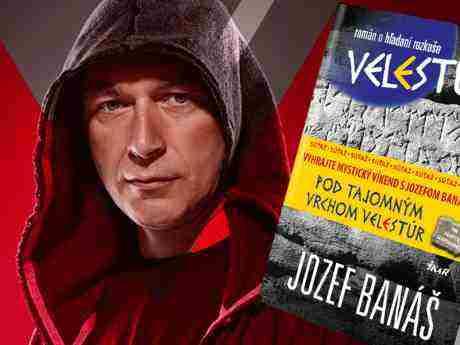 Súťaž o nový knižný hit Jozefa Banáša – VELESTÚR