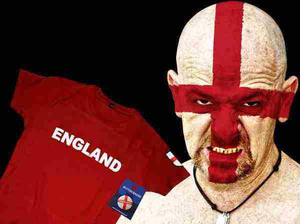 Vyhraj tričko a odznak England