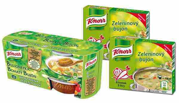 Vyhrajte zeleninové bujóny Knorr