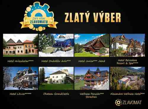 Cestovateľská súťaž Zlatý výber Zľavomatu o 8 hodnotných pobytov