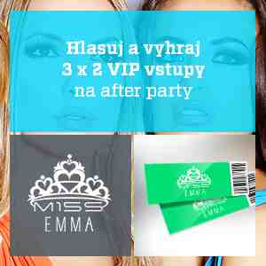 Hlasuj za svoju Miss Universe EMMA.sk a vyhraj!