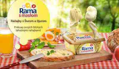 Rama s maslom – Raňajky s Ďurom a Djurom