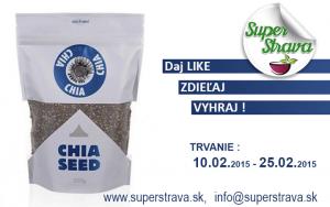 Súťaž o Chia semená 500g