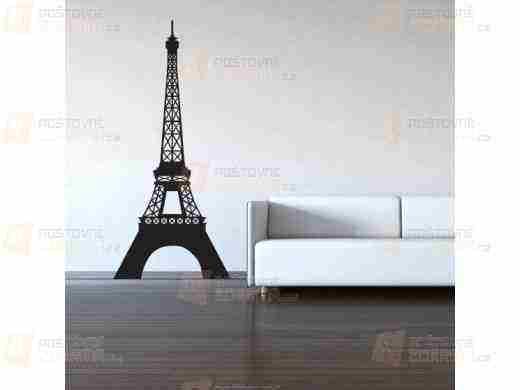 Súťaž s PoštovnéZDARMA.cz o Samolepka na stenu - Eiffelova veža