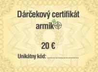 Súťaž o darčekovú poukážku v hodnote 20 € do Armik.sk
