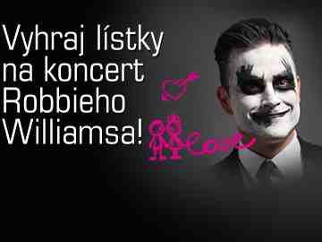 Valentínska súťaž s Robbie Williamsom