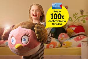 Vyhraj jedného zo 100 plyšiakov Angry Birds Star Wars