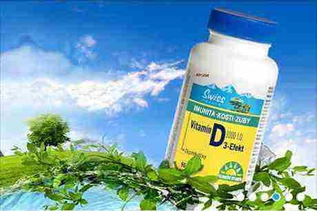 Vyhrajte Swiss Vitamín D3-Efekt!
