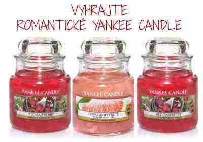 Vyhrajte YANKEE CANDLE Valentínsku romantiku každý deň