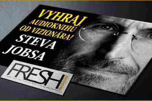 Vyhrajte audioknihu Steva Jobsa od Waltera Isaacsona
