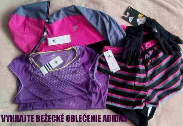 Vyhrajte fantastické Adidas bežecké oblečenie