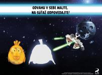 Vyhrajte veľkých plyšiakov Angry Birds Star Wars!