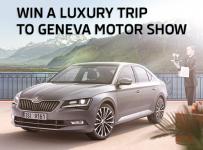 Win a luxury trip to Geneva with the New ŠKODA SUPERB