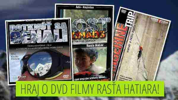 Hraj o DVD filmy Rasťa Hatiara!