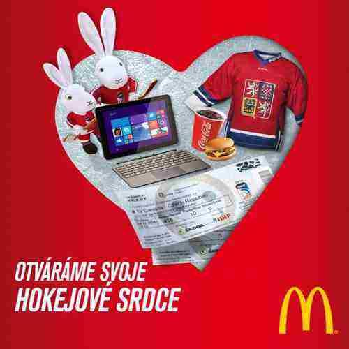 Súťaž McDonald's - Srdcom spolu