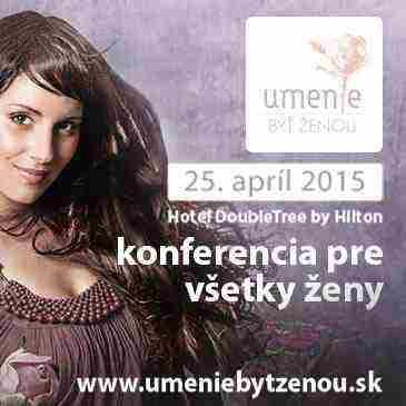Súťaž o 2 lístky na konferenciu Umenie byť ženou