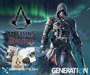 Súťaž o 5x Assassin`s Creed Rogue