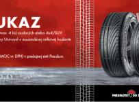 Súťaž o pneumatiky Uniroyal v hodnote 350 eur