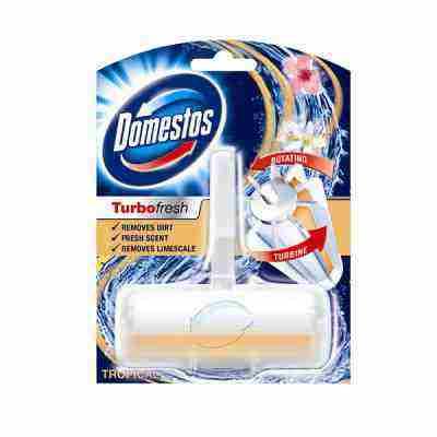 Súťaž rotačné WC bloky Domestos