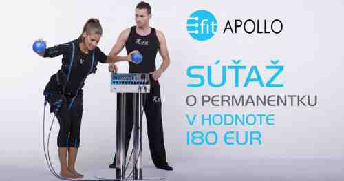 Sútaž o permanentku do štúdia E-Fit Apollo