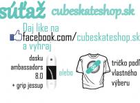 Súťaž o dosku od Ambassadors Skateboards + grip jessup alebo tričko