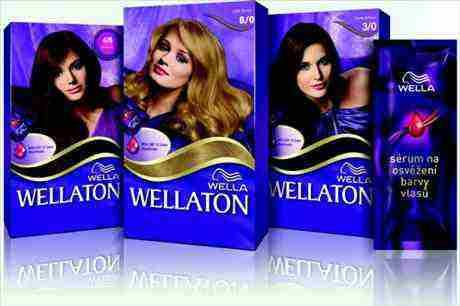 Souťěž s novou barvou Wellaton vlasy rychle nevyblednou!