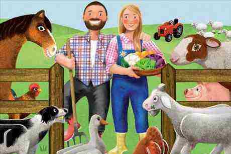 Soutěž s kampaní U nás na farmě o poukázky na nákup v Albertu