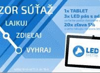Vyhraj s eshopom Led-Svet.sk