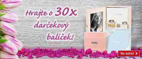 Vyhrajte jeden z parfumových balíčkov k sviatku žien