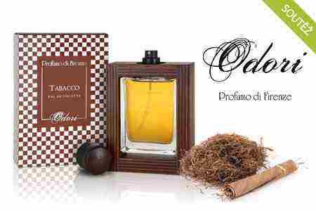 Vyhrajte jeden ze tří niche parfémů Odori Tabacco!