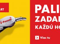 Vyhrajte každú hodinu palivo zadarmo za 50 €!