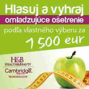 Vyhrajte omladzujúce ošetrenie za 1500 eur