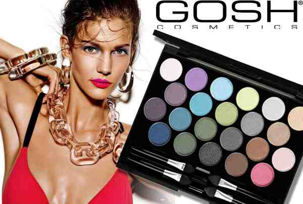 Gosh Eye Shadow Palette - paleta 22 očných tieňov