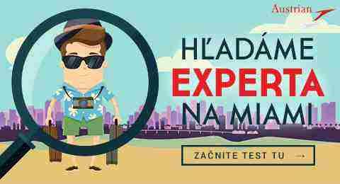 Hľadáme experta na Miami