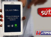 Hraj o tablet Samsung Galaxy Tab 3 Lite