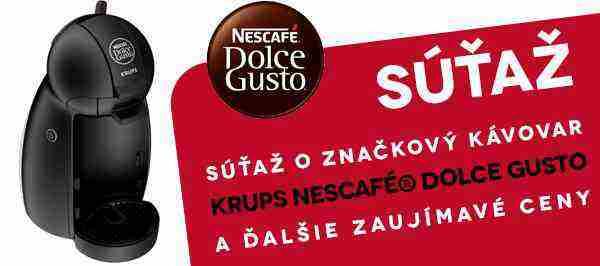 Hrajte o kávovar KRUPS NESCAFÉ DOLCE GUSTO