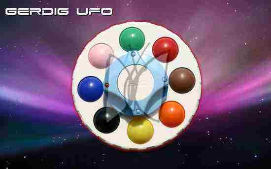 Súťaž o detský hlavolam Gerdig UFO