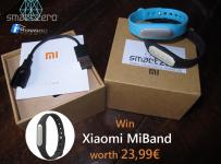 Súťaž o inteligentný náramok Xiaomi MiBand