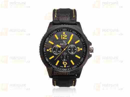 Súťaž o pánske športové hodinky so silikónovým remienkom