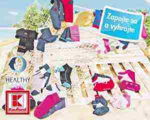 Súťaž o ponožky pre celú rodinu