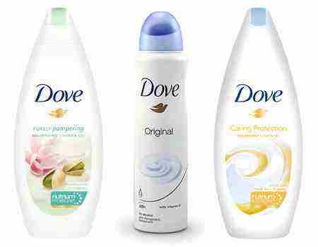 Súťaž o produkty Dove