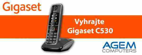 Vyhrajte analógový telefón C530 od spoločnosti Gigaset!